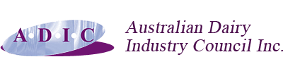 Australian Dairy Industry Council breakfast: Dairy industry's strategic advice