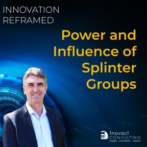 Power and influence of splinter groups