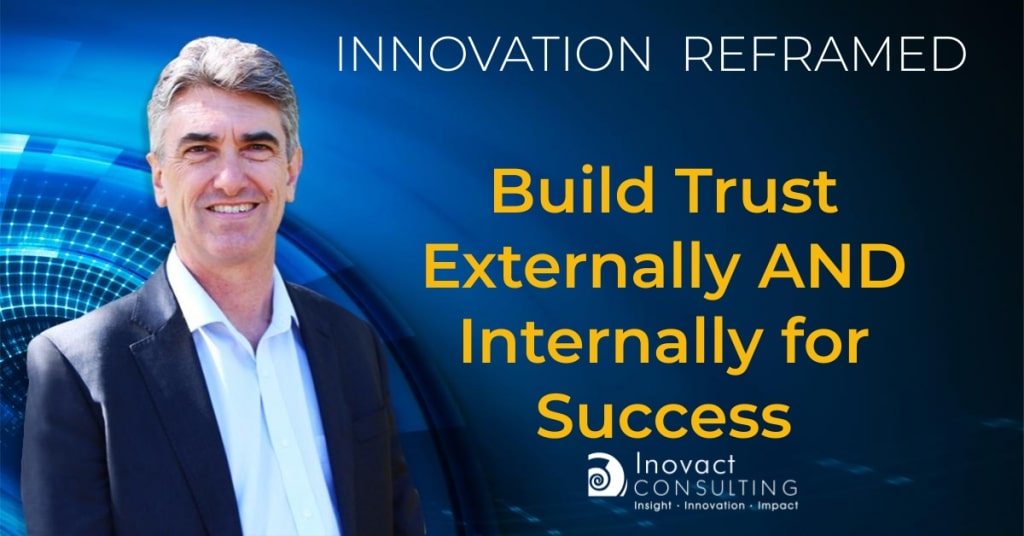 Build trust externally AND internally for success - ISO