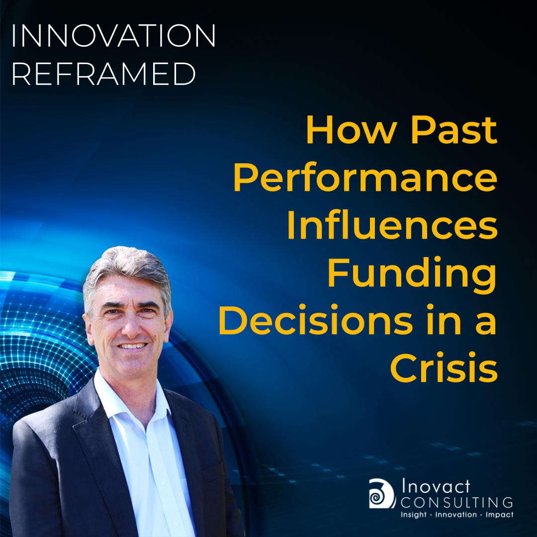 How Past Performance Influences Funding Decisions in a Crisis