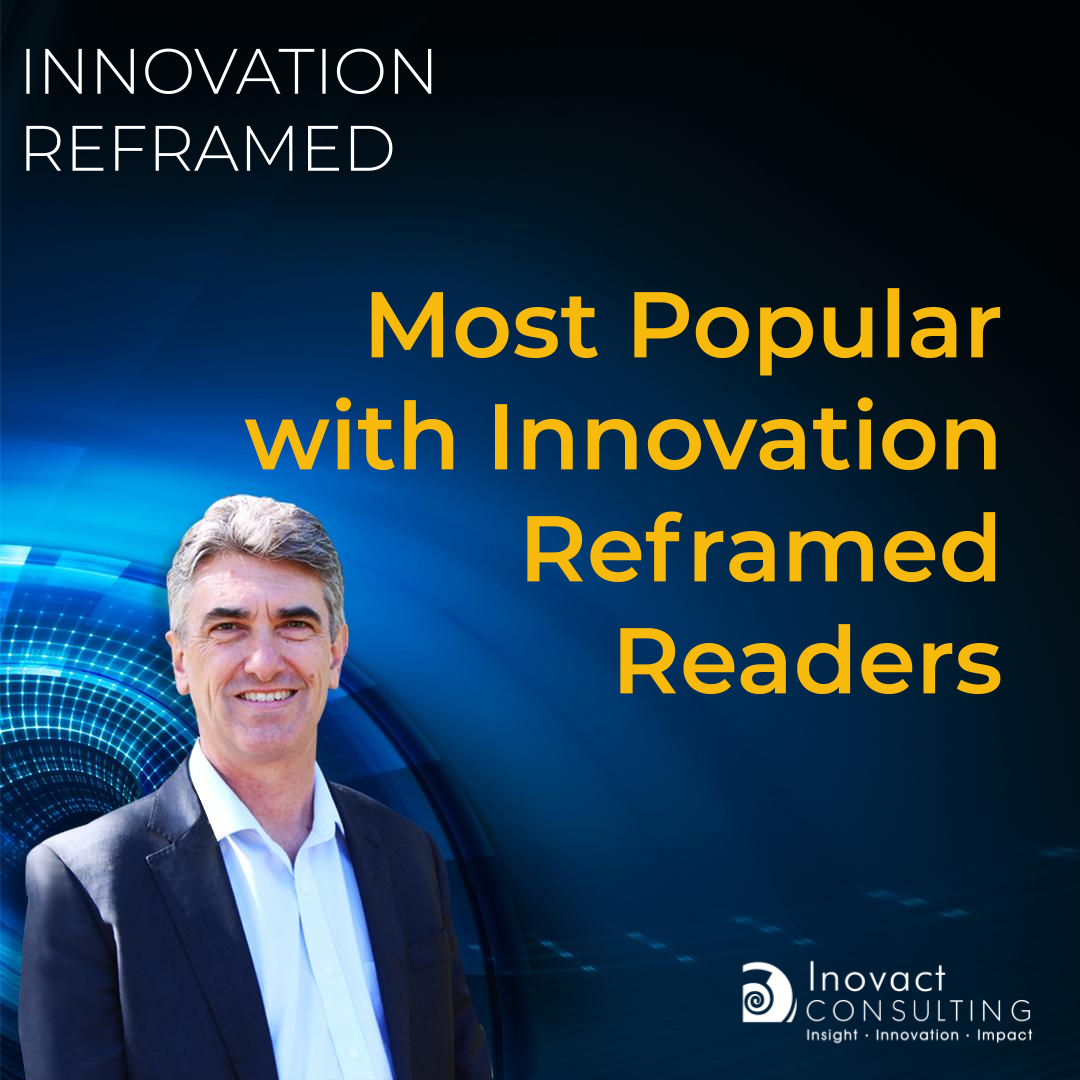 Most Popular with Innovation Reframed Readers
