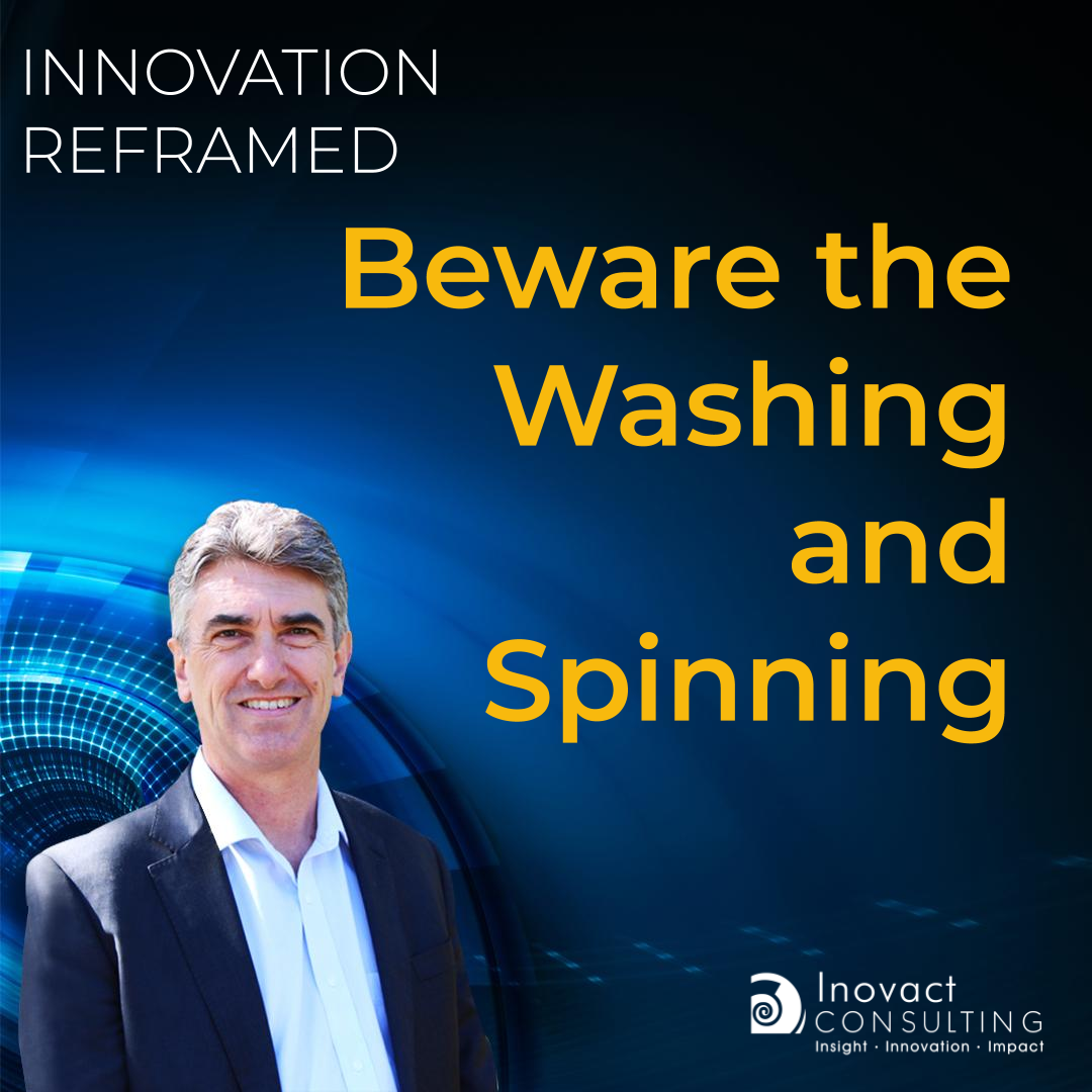 Beware the Washing and Spinning