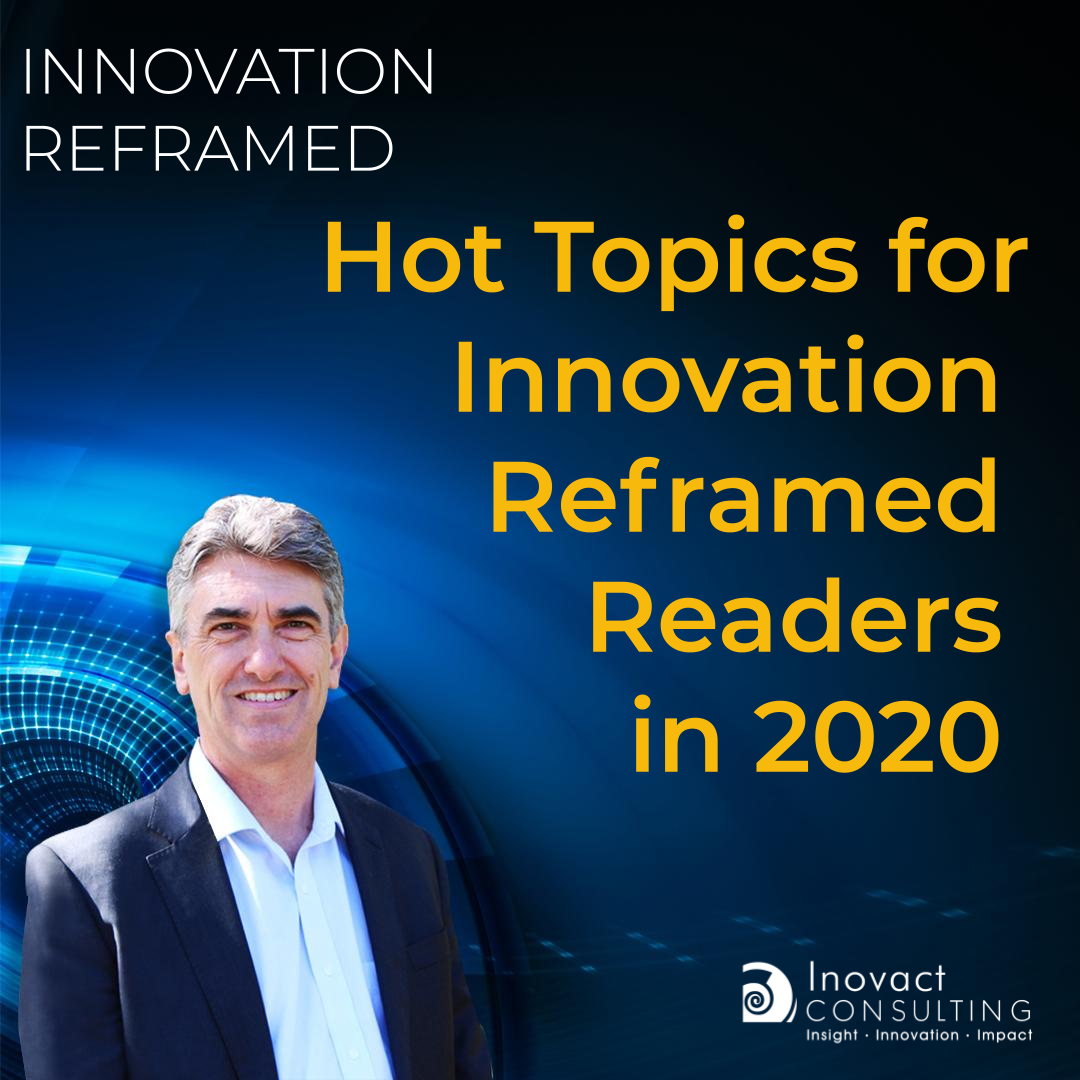 Hot Topics for Innovation Reframed Readers in 2020