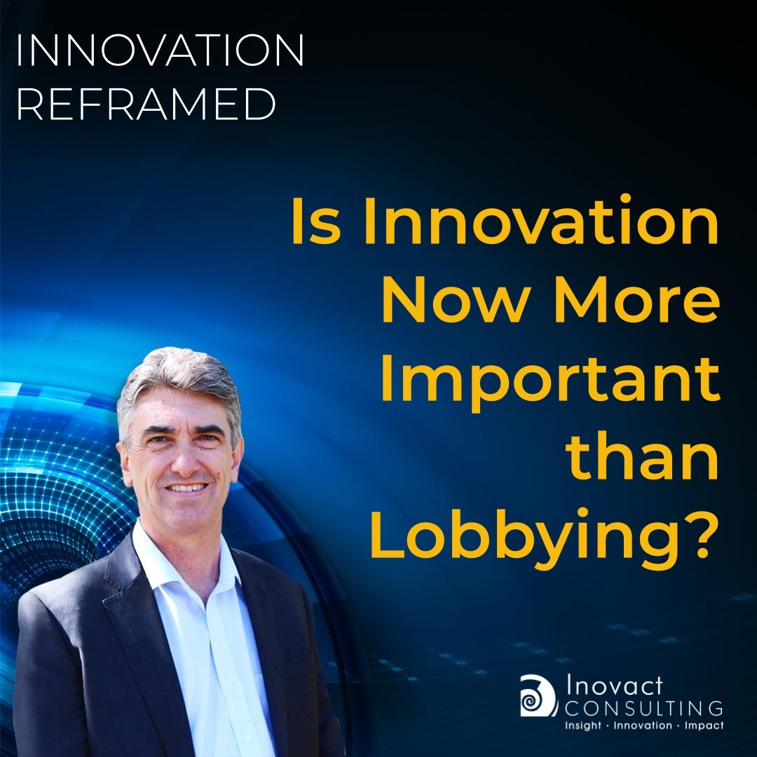 Is Innovation Now More Important than Lobbying?