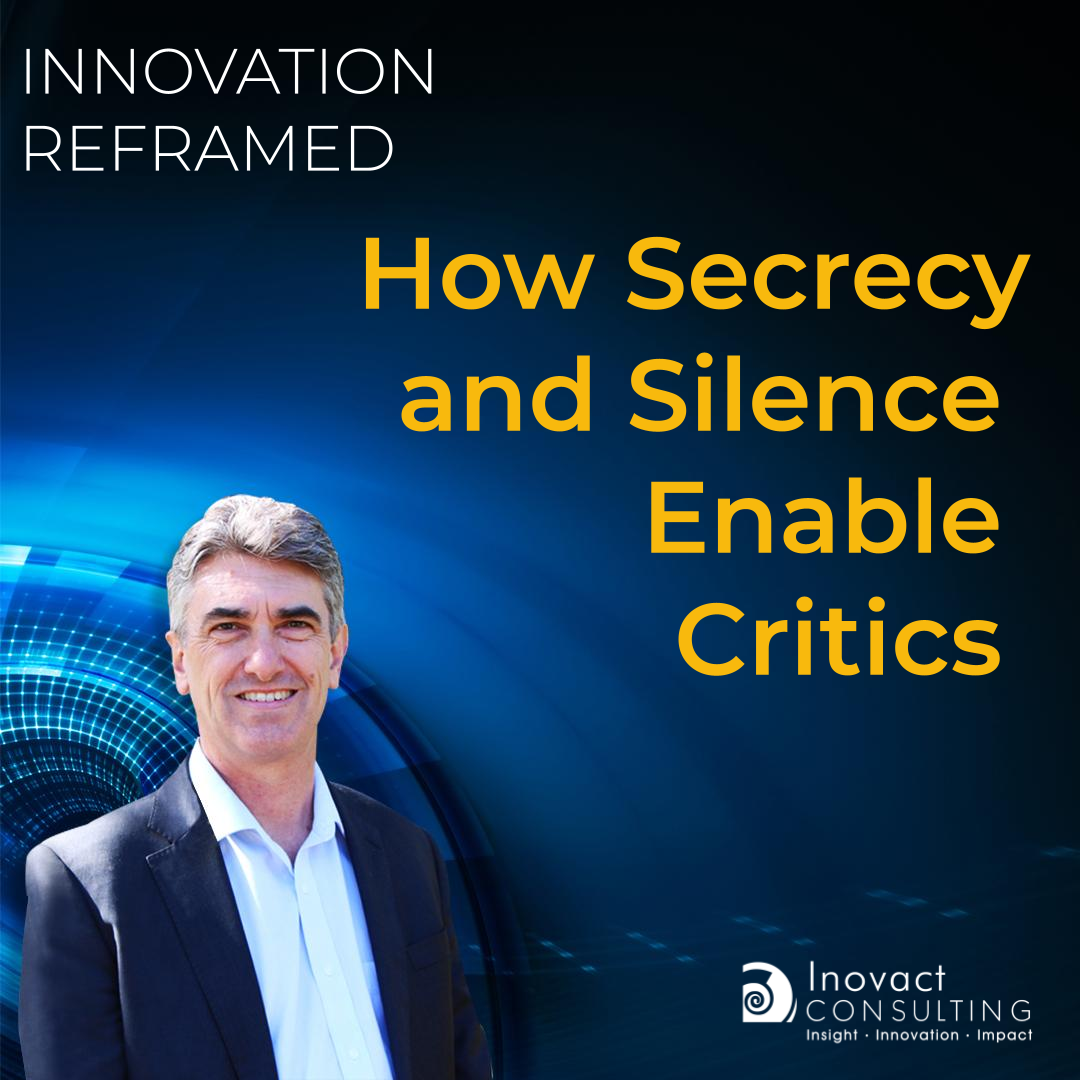 How Secrecy and Silence Enable Critics