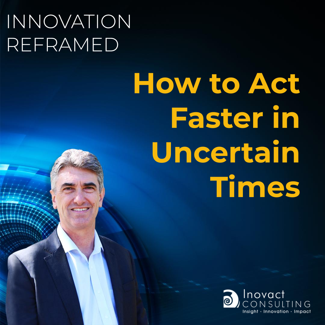 How to Act Faster in Uncertain Times