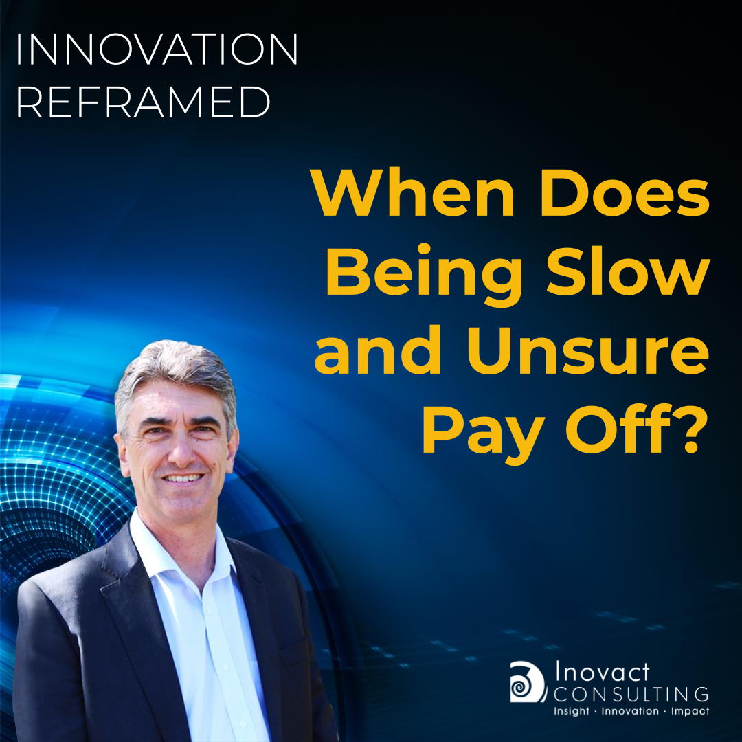 When Does Being Slow and Unsure Pay Off?